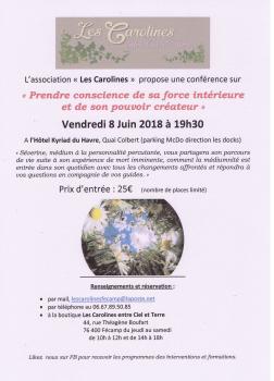 Affiche conference du 8 juin